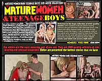 Mature and Boys - MATURE WOMEN AND TEENAGE BOYS DVD MOVIE COLLECTION