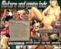 Mature and Young Lads - MATURE WOMEN AND YOUNG LADS DVD MOVIE COLLECTION